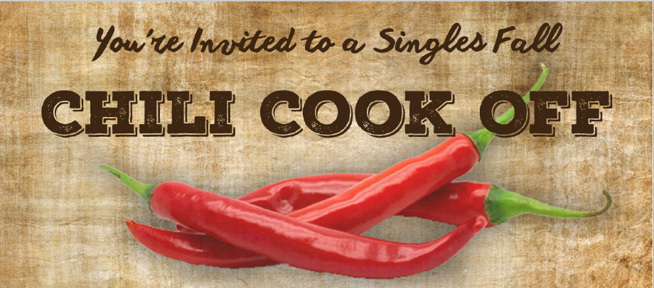 Singles 40+ Fall Chili Cook Off